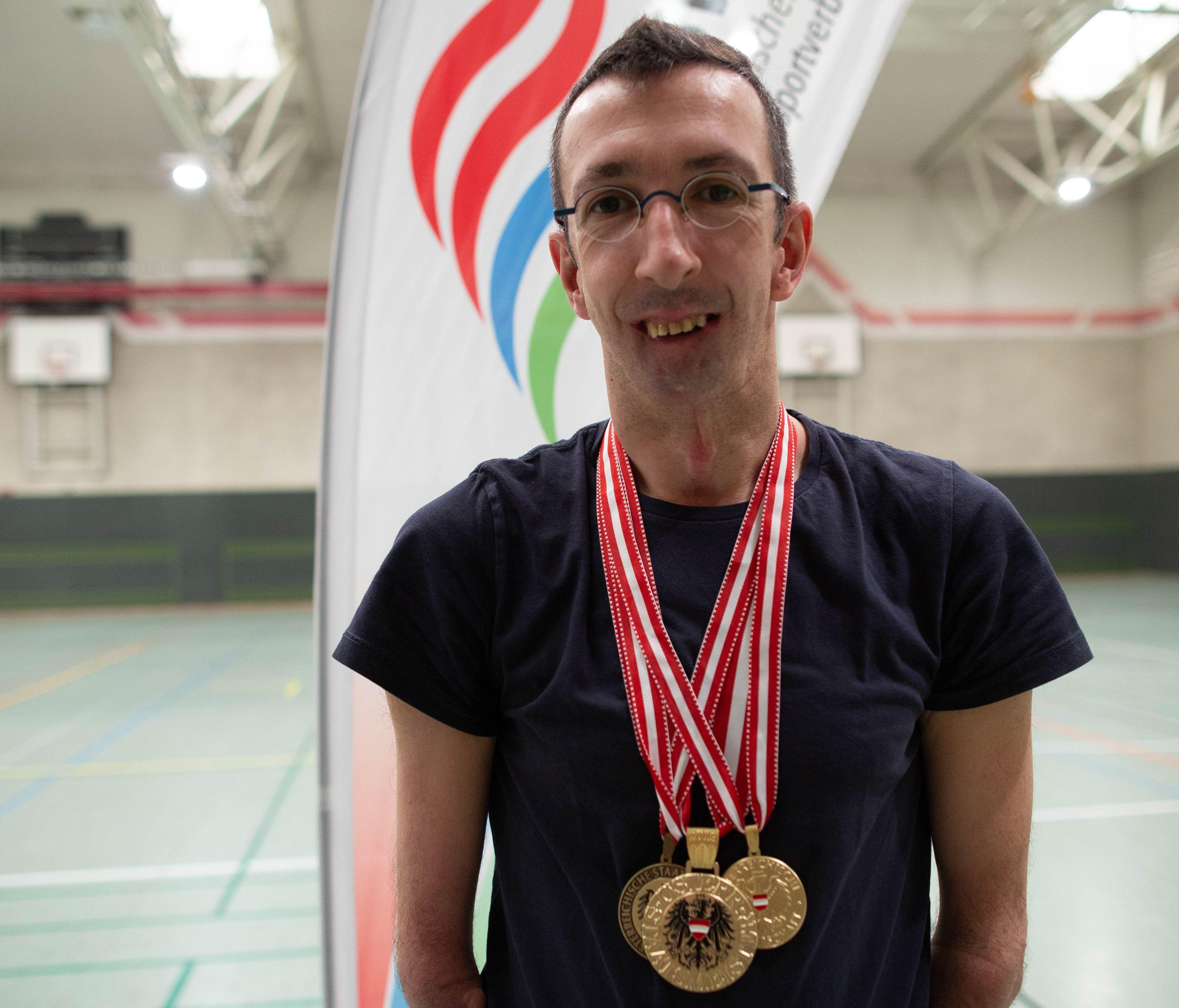 IErfolgreiche Titelverteidigung bei dem ÖSTM-Tischtennis für Behinderte