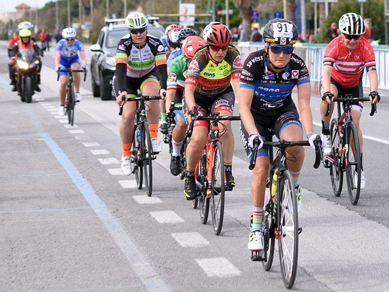 IGuter Radsaisonstart für Yvonne Marzinke in Massa/Italien